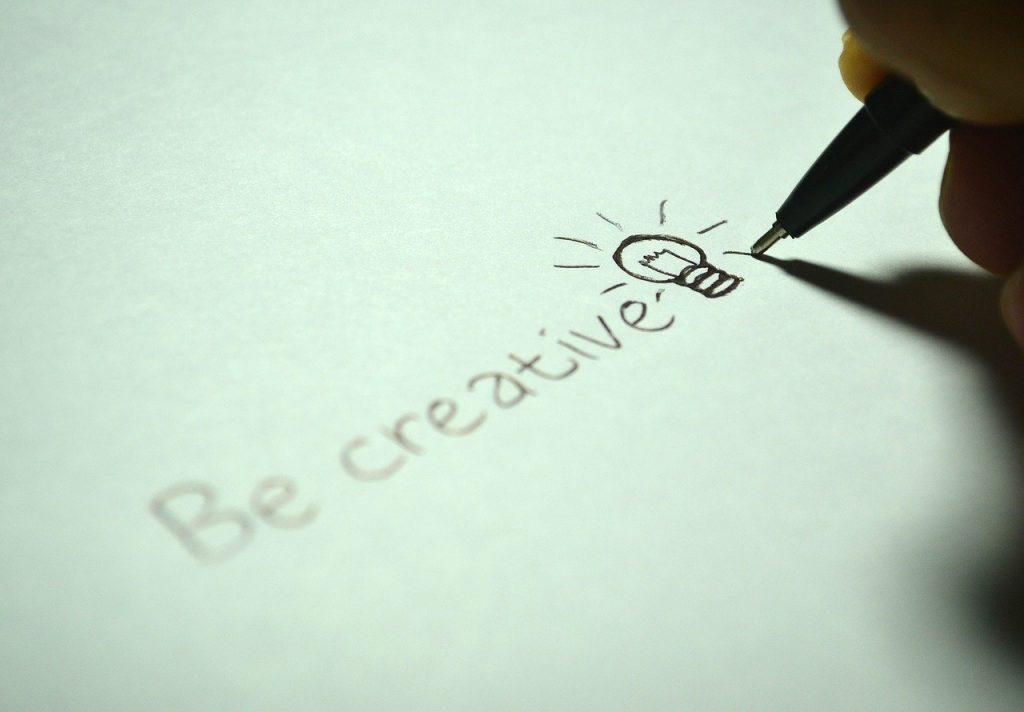 creative, be creative, write